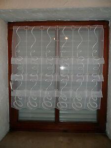 16 cm breite scheibengardine 135 cm hoch scheibengardinen. Black Bedroom Furniture Sets. Home Design Ideas