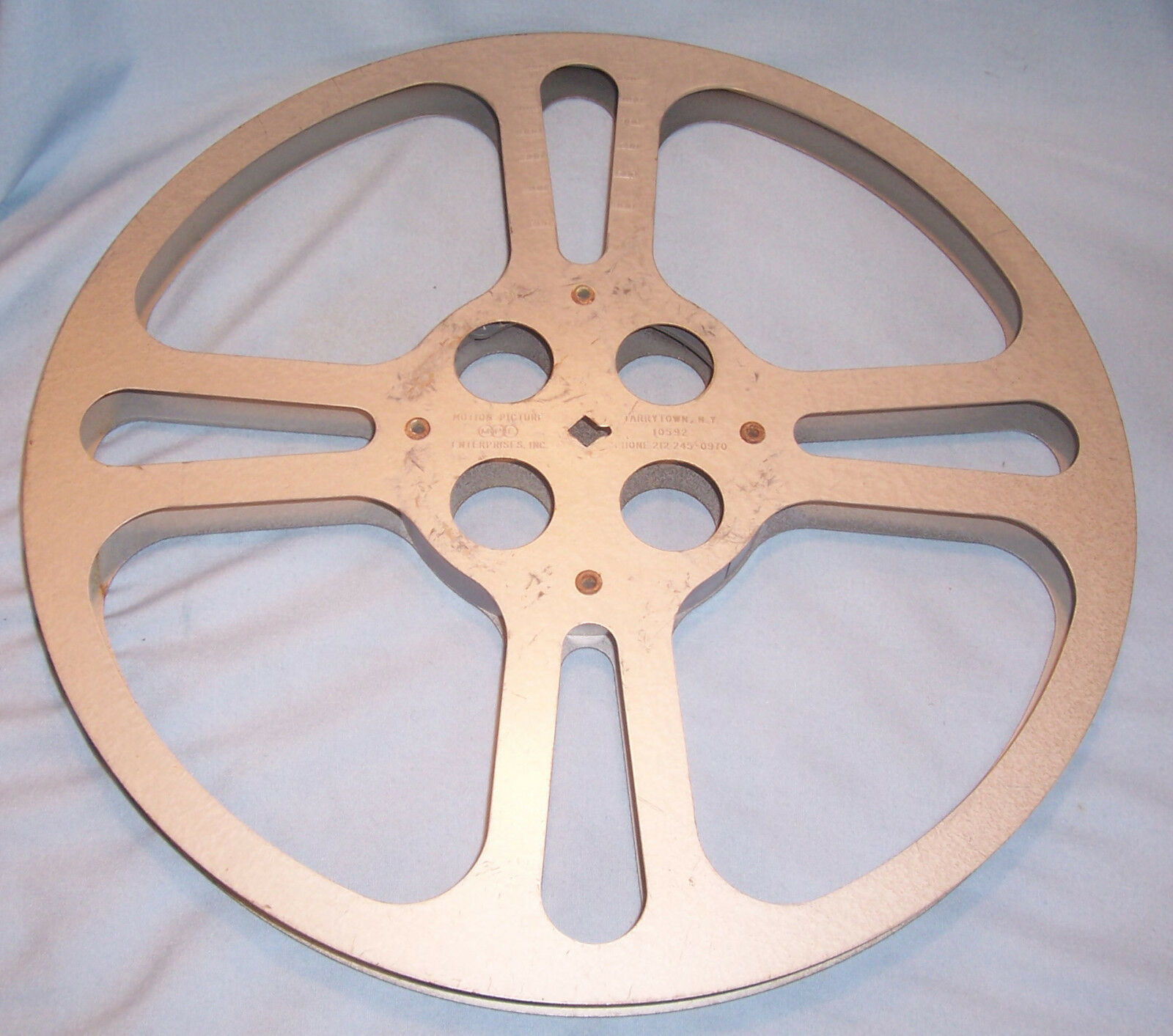 16MM 800 ft MPE Motion Picture Film Camera Movie Projector Take Up Reel Spool
