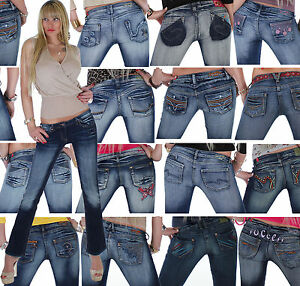 16q-Damenjeans-Hose-Bootcut-Hueftjeans-Damen-Jeans-Hueft-Schlaghose-10-Modelle
