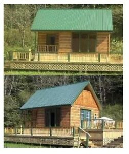 Details about 16x24 Cabin w/Loft Plans Package, Blueprints + MORE