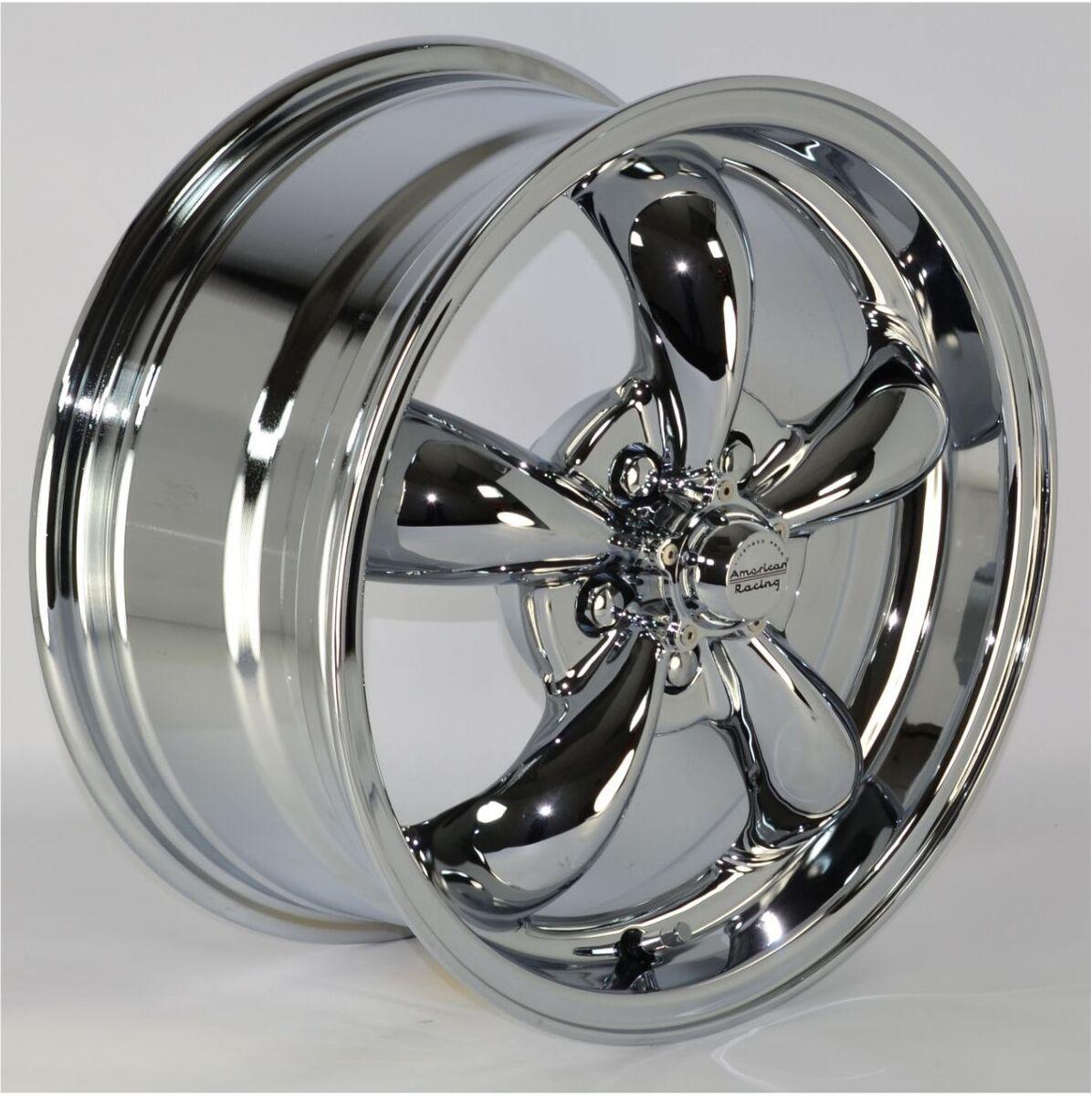 16x7 5 Spoke Chrome Wheels Rims 5x100 mm for Chrysler PT Cruiser 2002