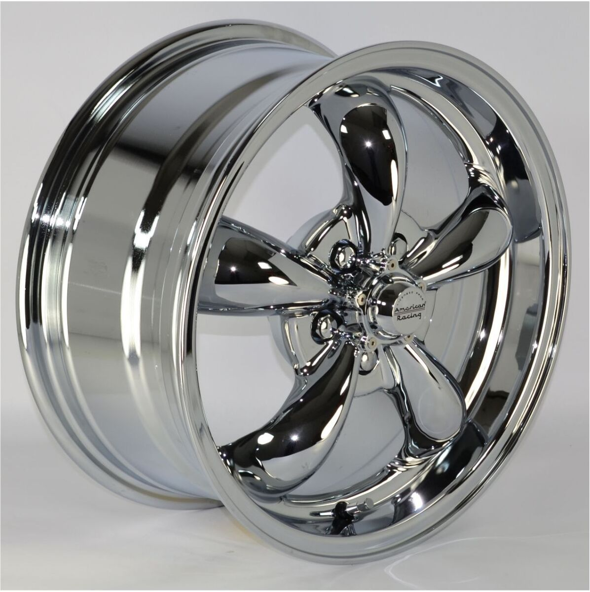 "16x7"" Chrome 5 Spoke Wheels Rims 5x115 mm Lug Pattern for Chevy Monte Carlo 2001"