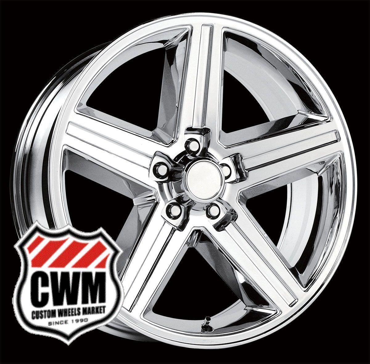 "16x8 IROC Z Chrome Aluminum Wheels Rims 5x4 75"" for GMC S15 Jimmy Sonoma 2WD"
