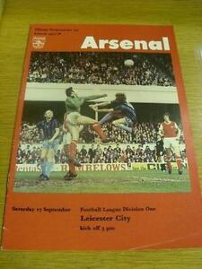 17-09-1977-Arsenal-v-Leicester-City-Token-Missing-I