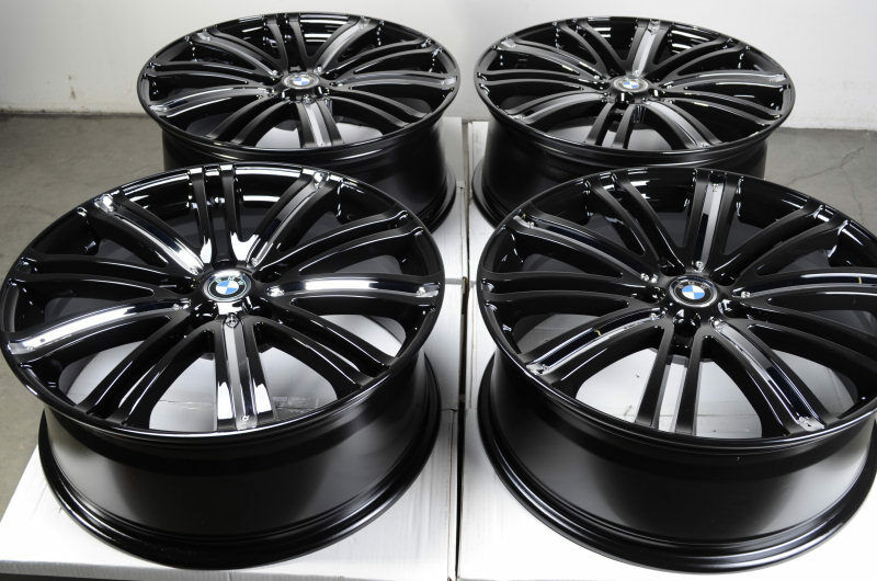 Black Wheels BMW TL RL Alloy Z3 Z4 330 318 3 Series Acura 5 Lug Rims