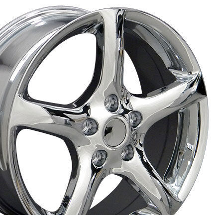 17 Chrome Maxima Altima Wheels Set of 4 Rims Fit Nissan Maxima 300zx