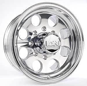 17 ion 171 Polished Wheels Rims 8x6 5 8 Lug Chevy GMC Dodge 2500 3500