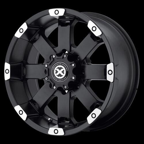 17 Inch Black Wheels Rims Dodge Ram 2500 3500 Truck Chevy Silverado 8