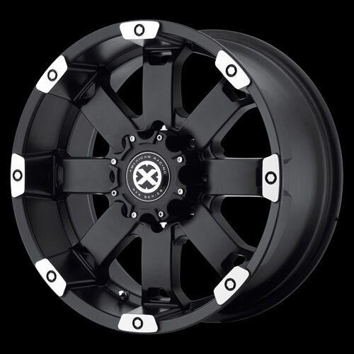 17 Inch Black Wheels Rims Toyota Nissan Frontier Chevy GM Truck Pickup