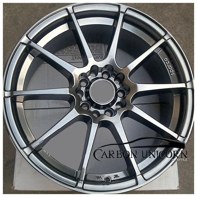 17 inch oz Racing Style 5x108 5x114 3 Wheels Rims for Honda Mitsubishi Mazda
