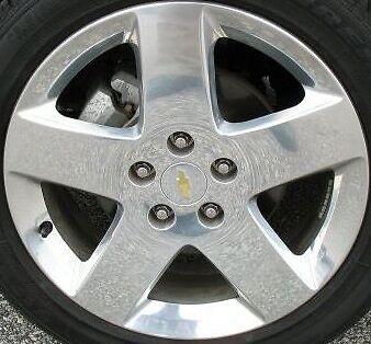 17 Polished Alloy Wheel Rim for 2006 2007 2008 2009 Chevy Chevrolet