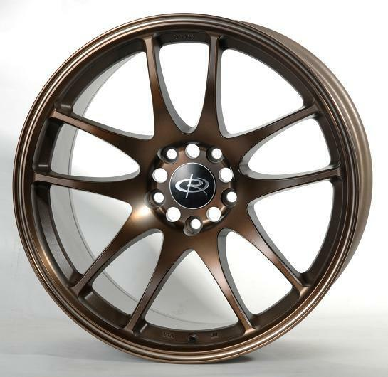 17 Rota Torque Bronze Rims Wheels 17x85 48 5x114 3 Mazda3 SPEED3