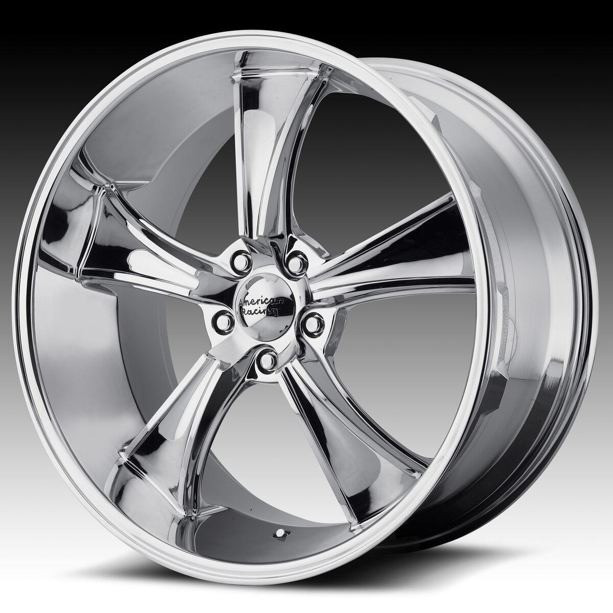 17 VN805 Blvd American Racing Wheels Rims Torq Chevy Ford Dodge Chrome