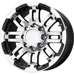 17 Vision Wheels Rims 6x135 Ford F 150
