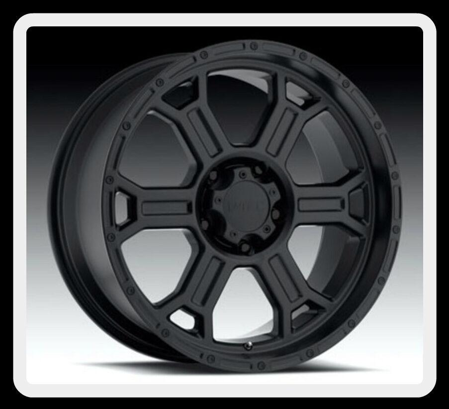 372 Raptor 17 inch Matte Black 5x5 5 Dodge RAM 1500 Wheels Rims