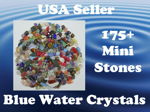 175 MIXED XS MINI TUMBLED STONE Size 2 Crystal Healing Gem Reiki Wicca Gemstone in Collectibles, Rocks, Fossils & Minerals, Crystals & Mineral Specimens | eBay