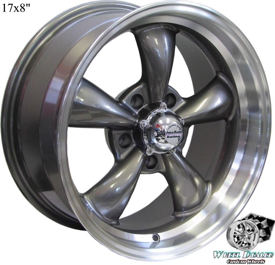 17x8 9 GRAY REV CLASSIC 100 WHEELS RIMS CHEVY C 10 TRUCK 1968 1969