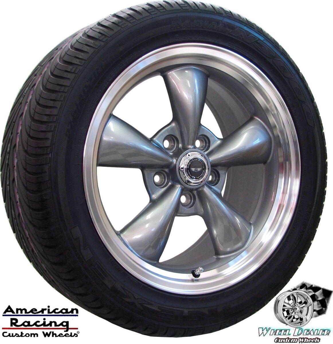 Racing Torq Thrust Wheels Rims Tires Pontiac Firebird 1997 1998