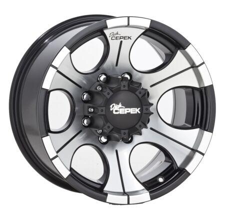 17x9 Dick Cepek DC 2 Black Wheel 8x6 5 17 8 Lug 3 4 1 Ton Dodge GM