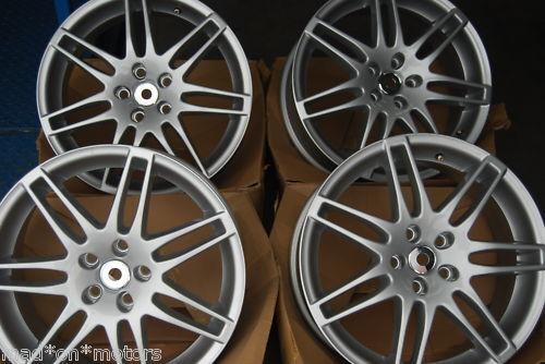 18 Audi Alloy Wheels A3 S3 A4 S4 A6 S6 A8 Q5 TT s Line