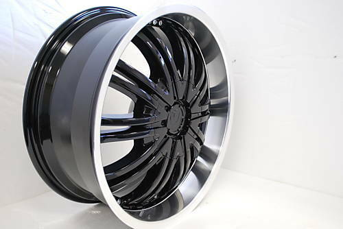 18 Black Wheels Rims Chevy S10 Blazer Sonoma Camaro
