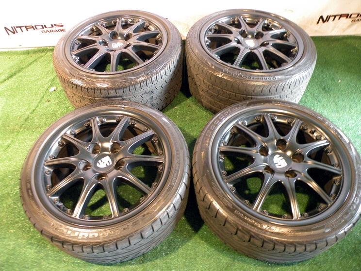 """18"""" Factory Porsche Carrera Wheels 911 Narrowbody 993 996 997 BBs Tires 2pc"""