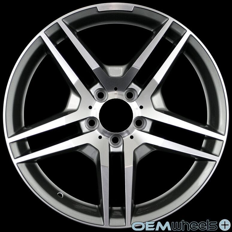 "18"" Gunmetal Wheels Fits Mercedes Benz AMG W220 S430 S500 S600 S55 S63 S65 Rims"