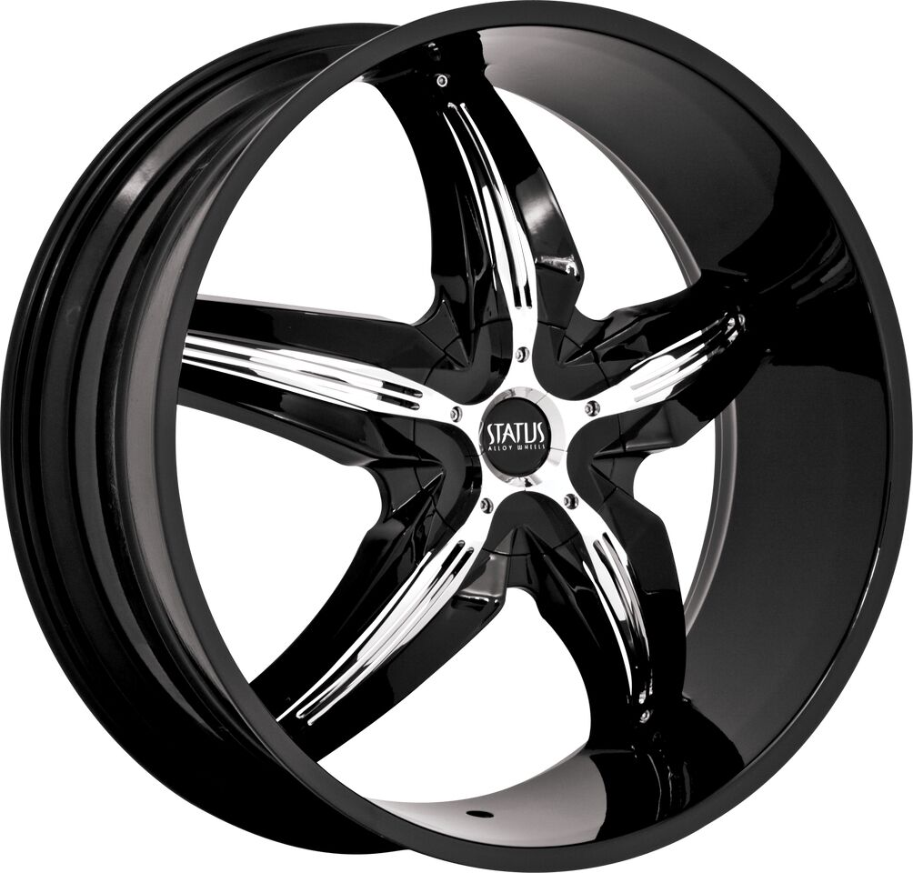 "18"" inch 4x100 4x4 5 Black Chrome Insert Wheels Rims 4 Lug Toyota Nissan Honda"