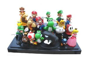 18 nintendo super mario figuren 3 7cm neu ovp yoshi. Black Bedroom Furniture Sets. Home Design Ideas