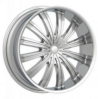 18 inch 18x7 5 PW38 Spine 4 5 Lug Dub Rims Wheels Tires Package