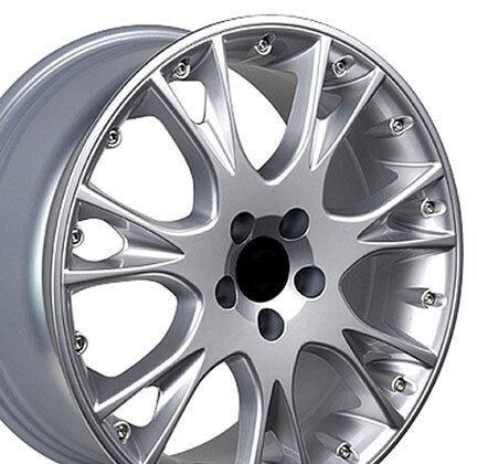 18 S80 Silver Wheels Set of 4 Rims Fit Volvo S40 S60 S70 S80 V50 V70