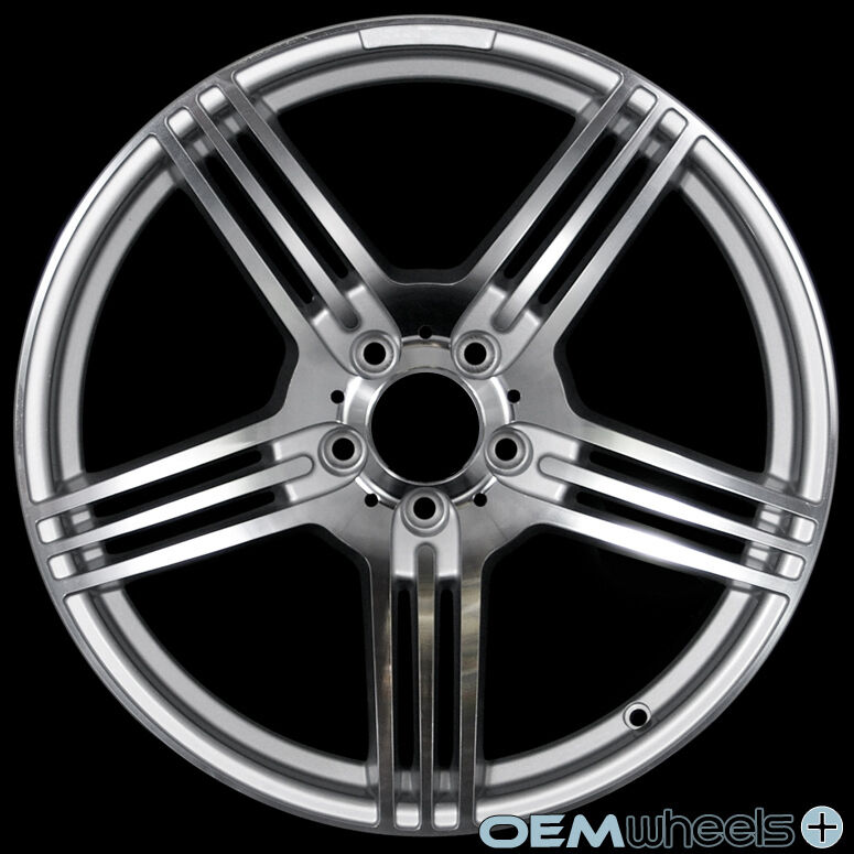 """18"""" Silver Polish Wheels Fits Mercedes Benz AMG ML320 ML430 ML500 ML55 W163 Rims"""