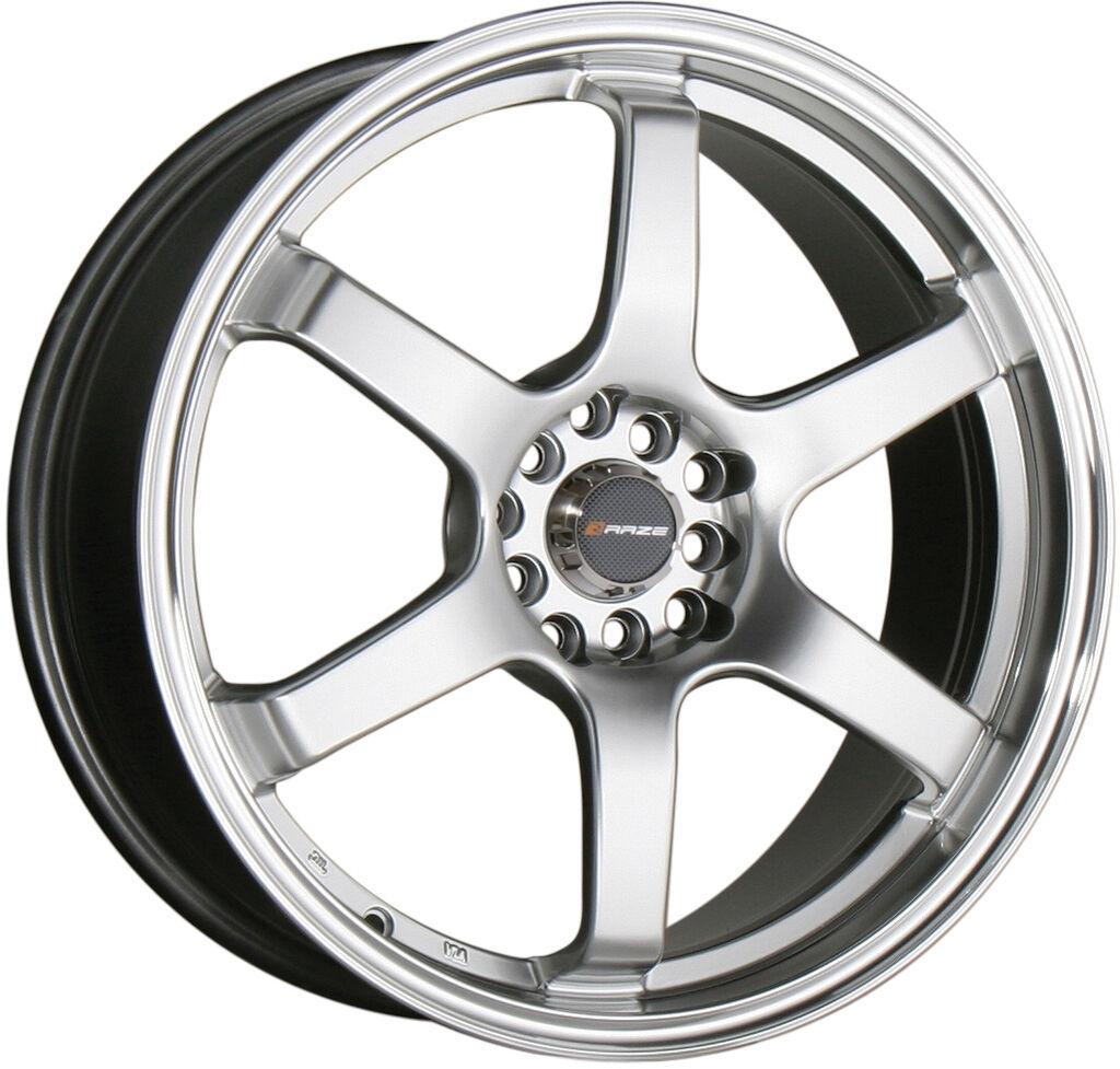 18 Silver Wheels Rims Honda Accord Civic S2000 Celica Scion TC 5x100