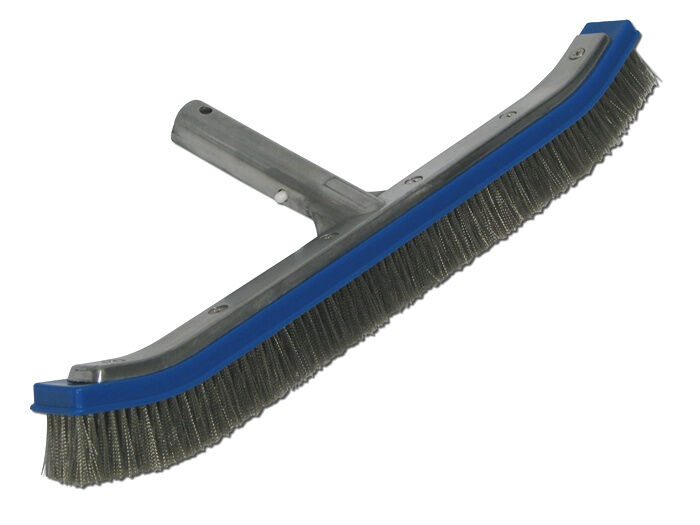 18 Quot Curved Swimming Pool Algae Brush W Stainless Steel