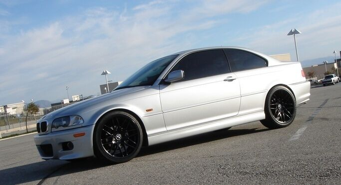 18 Wheels Tires Packages CSL Style Black Rim Fit BMW Z3 Z4 318 323