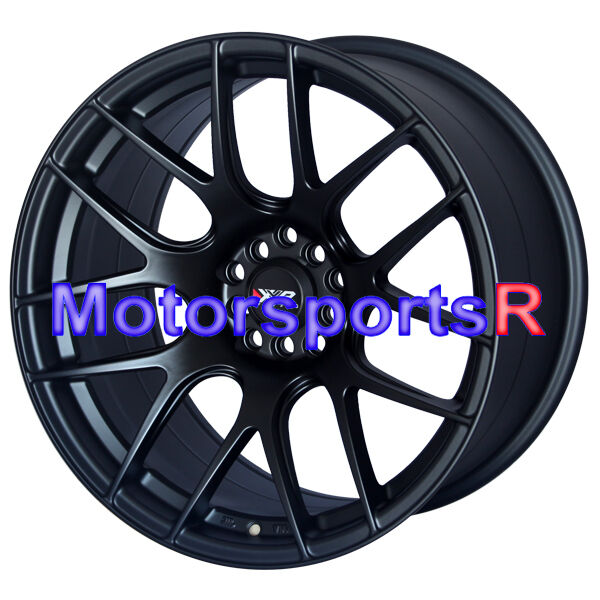 Black Concave Rims Staggered Wheels Stance 5x114 3 5x100 5x4 5