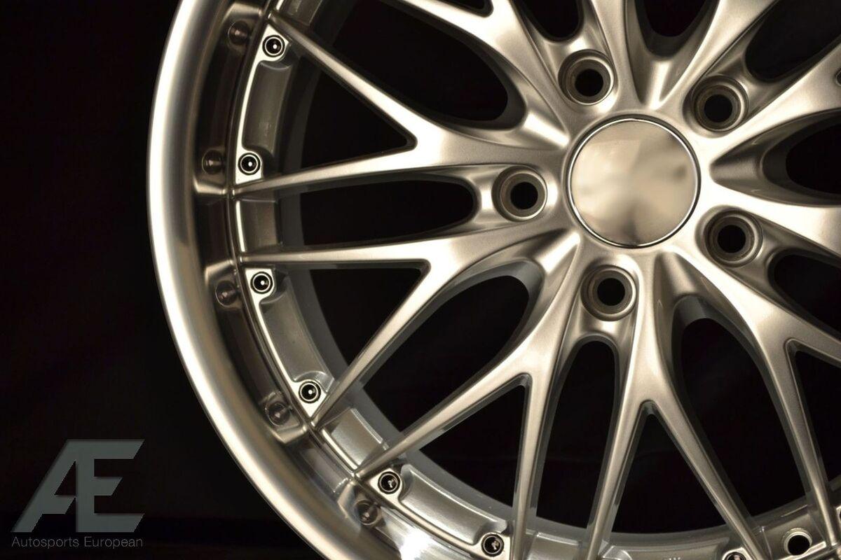 18 inch Nissan 350Z 370Z Altima Wheels Rims GT1 Silver