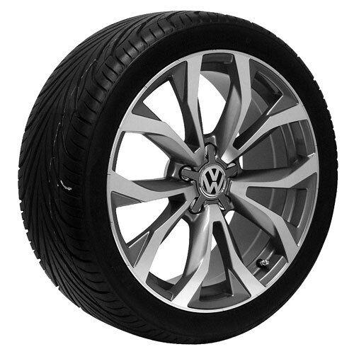 """18"""" inch Passat EOS Golf GTI Jetta VW Volkswagen Rims Wheels and Tires"""