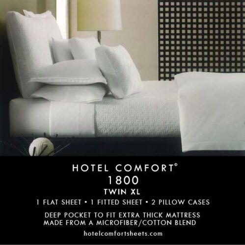 1800 Thread Count Twin XL Bed Sheet Set in Home & Garden, Bedding, Sheets & Pillowcases | eBay