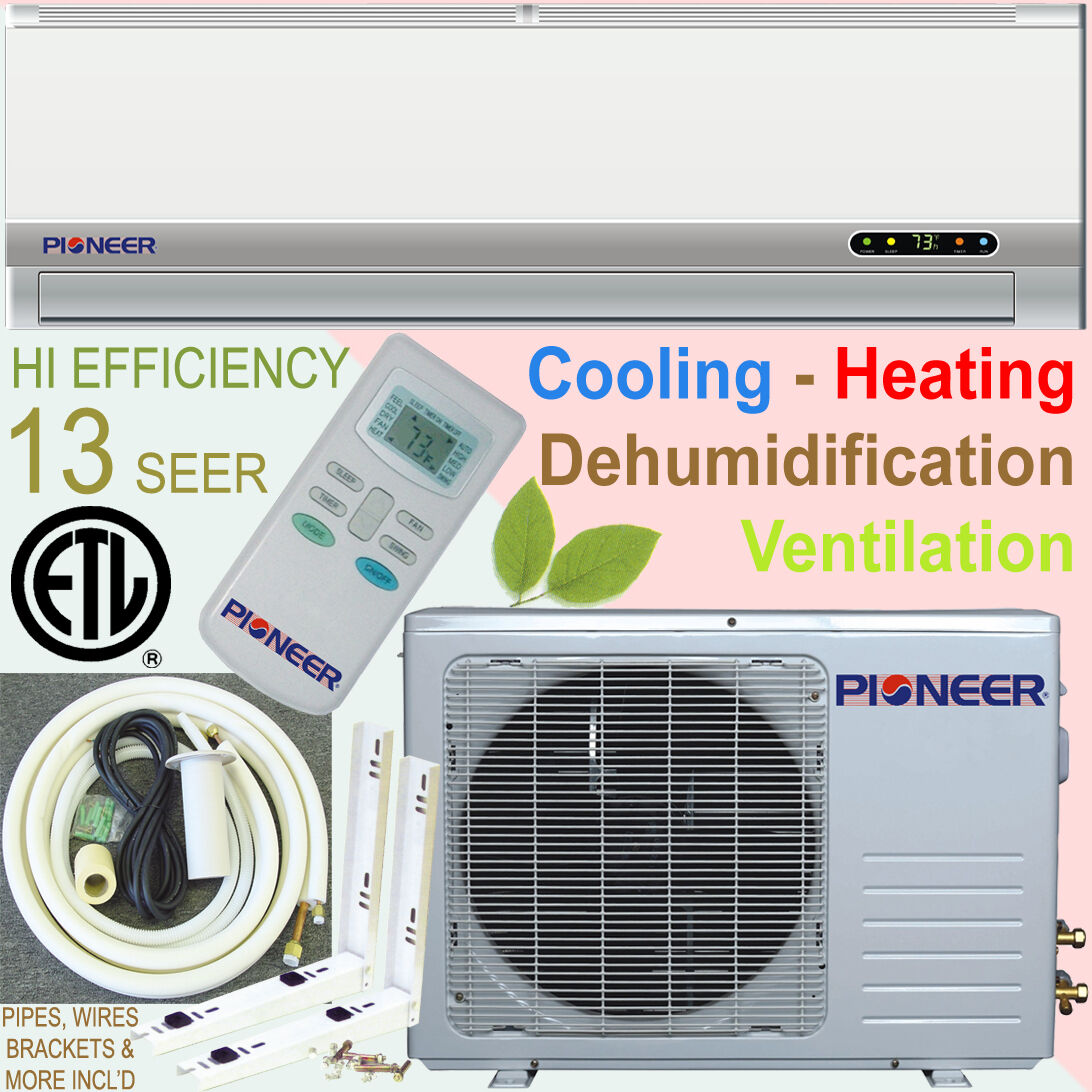 Pioneer Ductless Mini Split Air Conditioner Heat Pump incl Kit