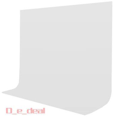 180x280cm-Fotostudio-Hintergrund-Hintergrundstoff-Green-Screen-Weiss-Baumwolle