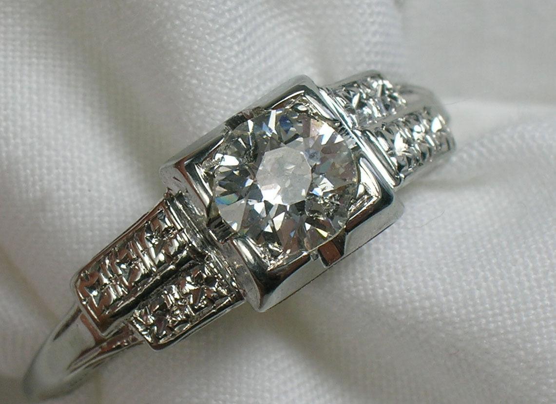 Vintage Estate Diamond Jewelry