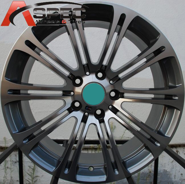 Style Wheel Tires Package 5x120 Rims Fits BMW 535xi 2008 2012