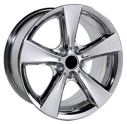"""18x8 5"""" BMW Chrome Wheels Rims 3 Series 318i 325i 330i 335i 328i 5 Flare Spoke"""