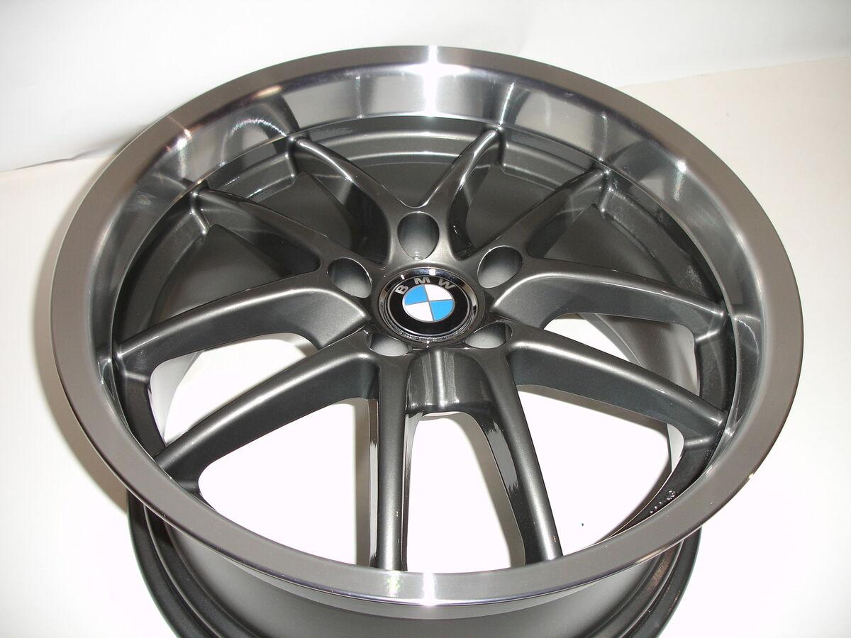 SPYDER Staggered Gunmetal Wheels Rims BMW 5 6Series E39 E60 E63 E64