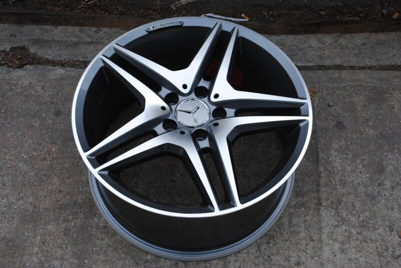"19"" AMG Style Staggered Wheels Rims Fit Mercedes E320 E350 E500"