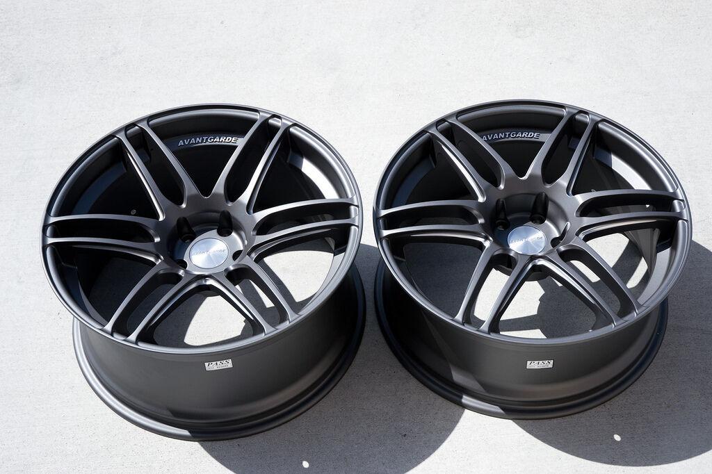 19 Avant Garde M368 Wheels Rims Fit Infiniti G35 G37 Nissan 350Z 370Z