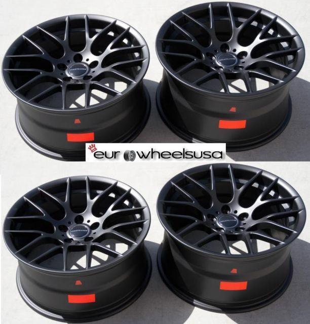 19 Avant Garde Wheels for BMW M6 M5 545 550 750 E90 E92 M3 Set of 4