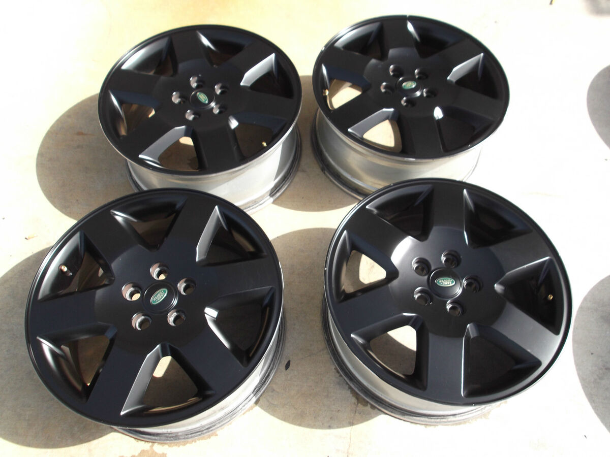 "19"" Land Rover LR3 Black Wheels Rims HSE LR4 Discovery II 72191"