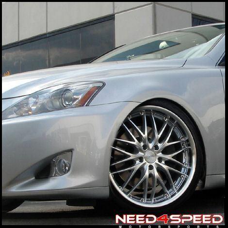 19 Lexus Is IS250 is350 MRR GT1 Staggered Rims Wheels
